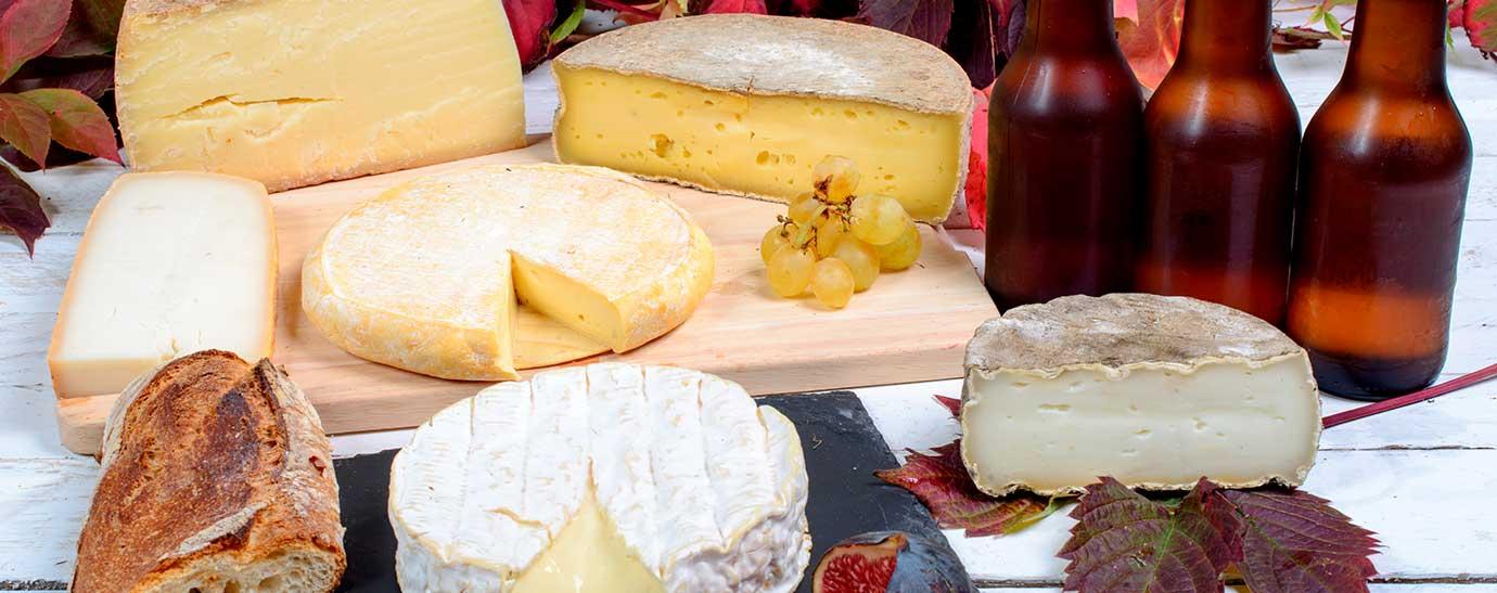 Maridaje de queso y cerveza